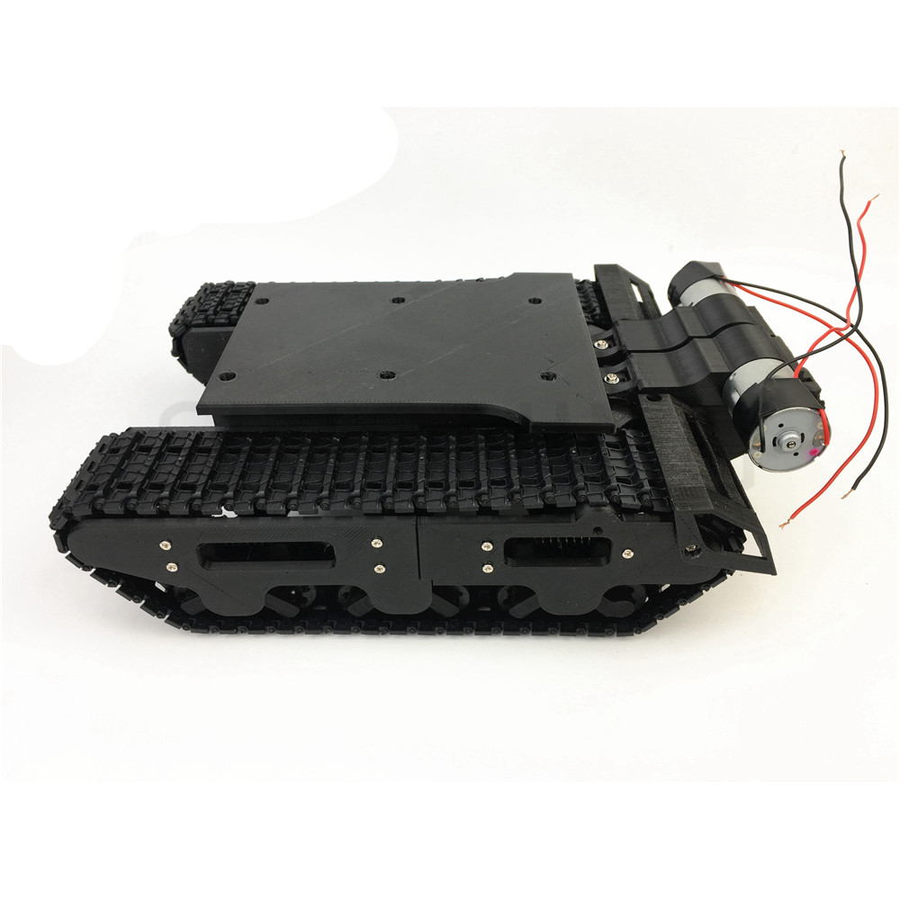 3D print damping tank chassis suspension DIY for robot arduino SN6100