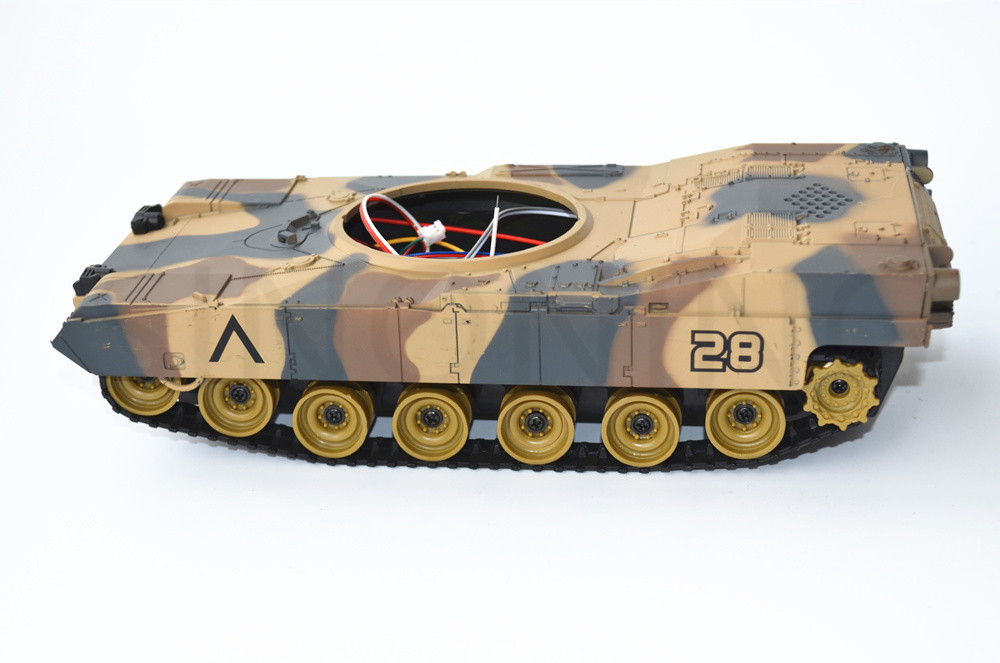 Smart Robot Tank Chassis with cover Crawler caterpillar rubber Tracking  DIY for Arduino SN5300
