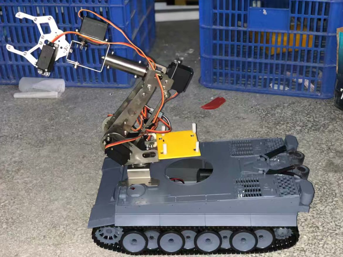 Why is the robot tank chassis so expensive?