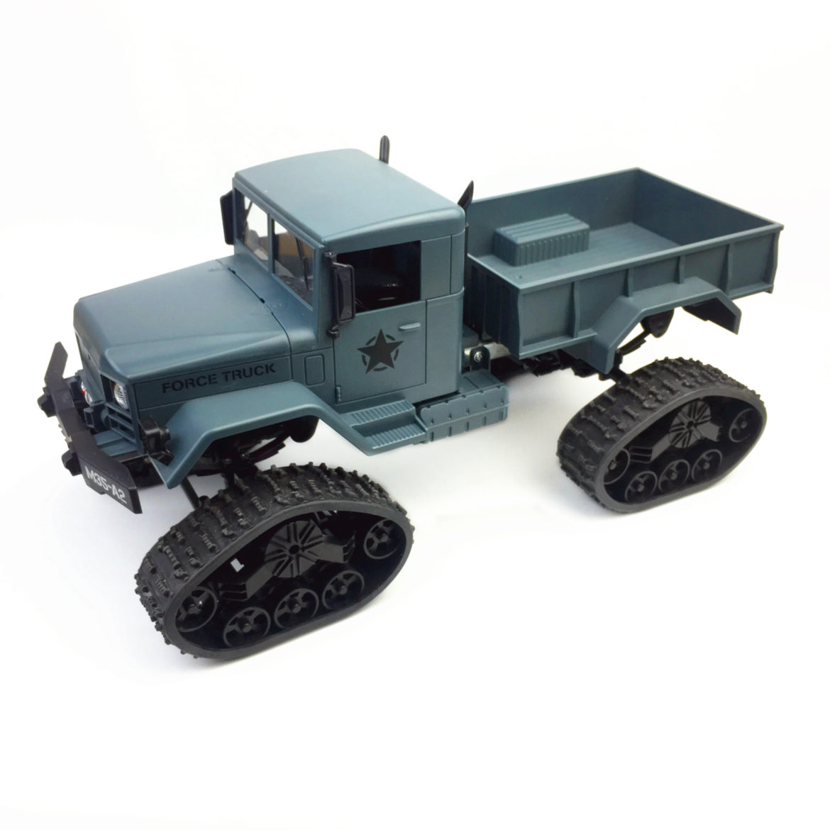 All-terrain rubber track wheel robot chassis military truck